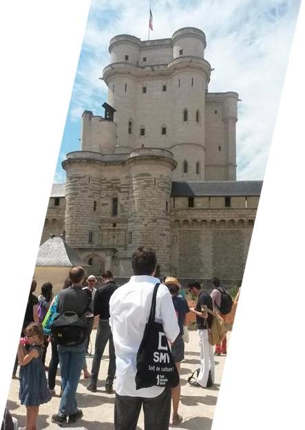 SMV au château de Vincennes
