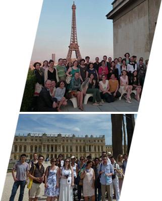 SMV à la Cité de l'Architecture et au Château de Versailles